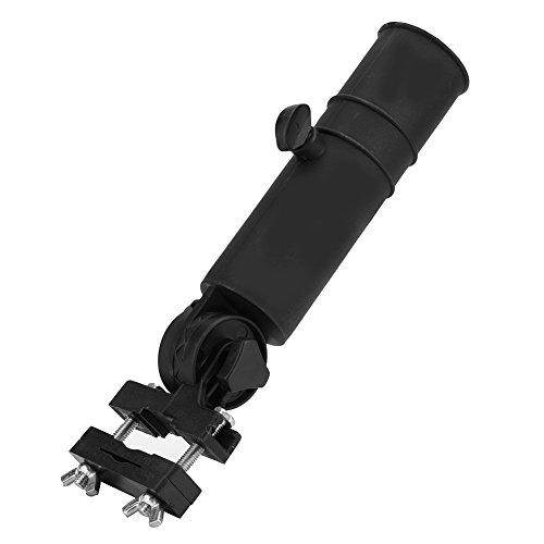 SOONHUA-Support-de-Parapluie-de-Chariot-de-Golf-Accessoire-de-Montage-de-Montant-de-Parapluie-Rglable-Universel-pour-Poignes-de-Voiturette-de-Golf-Noir-0