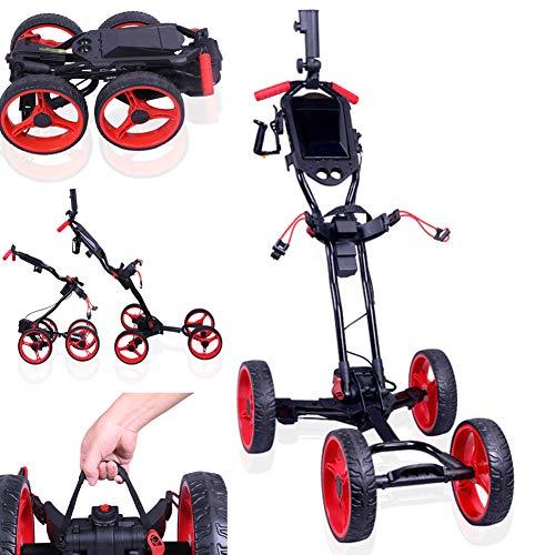 Starsmyy-Chariot-De-Golf-lectriqueChariot–4-Roues-De-Golf-avec-Chariot-De-Support-De-Bouilloire-Tableau-De-Bord-Chariot-De-Chariot-Lger-Une-Seconde-pour-Ouvrir-Et-Fermer-Le-Chariot-Pliant-0