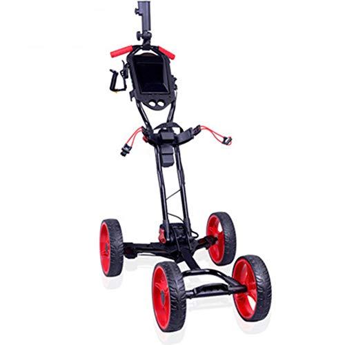 WLKQ-Chariot-de-Golf-Golf-Push-Trolley-Golf-Trolley–Pousser-Golf-voiturette-lectrique–Quatre-Roues-Panier-Handcart-Un-Bouton-dpliage-Fonction-Chariot-de-Golf-0
