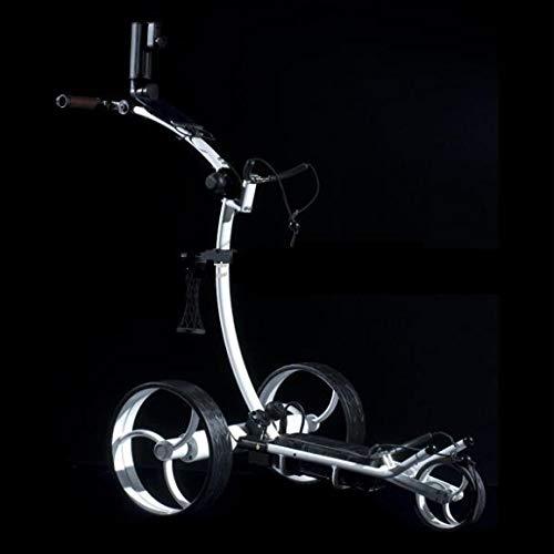 GolfSpeed-Chariot-de-Golf-X5-lectrique-tlcommand-Blanc-0