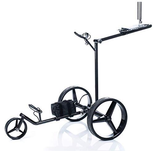 Chariot-de-golf-lectrique-GT-CR-avec-tlcommande-en-carbone-0-0