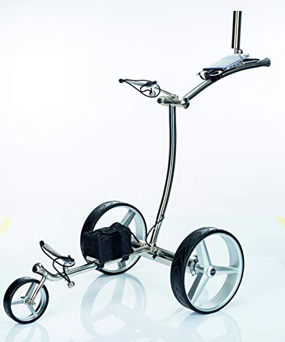 GT-R-Chariot-de-golf-lectrique-en-acier-inoxydable-avec-tlcommande-et-5-accessoires-0