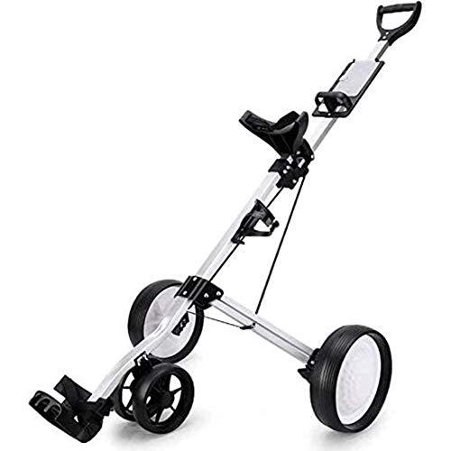LILIS-Chariot-De-Golf-Golf-Push-Cart-Pliable-3-Roues-de-Golf-Chariot-de-Golf-lectrique-Chariot-Roue-Push-Pull-Golf-Cart-Fitness-Equipment-0