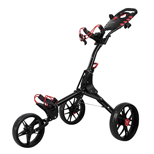 vilineke-Chariot-de-golf-compact–3-roues-petit-pliable-et-lger-2-tapes-douverture-et-fermeture-gris-fonc-0